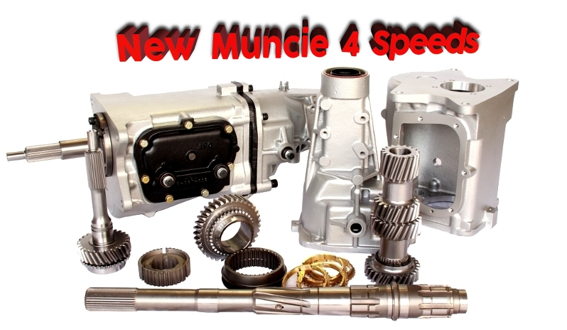 New Muncie 4 Speeds
