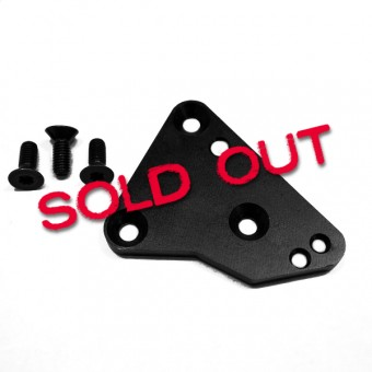 Hurst Mounting Plate for 1969 Camaro / Firebird  with 32 Spline Extension Housing