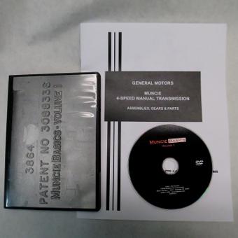 Muncie Rebuilding DVD