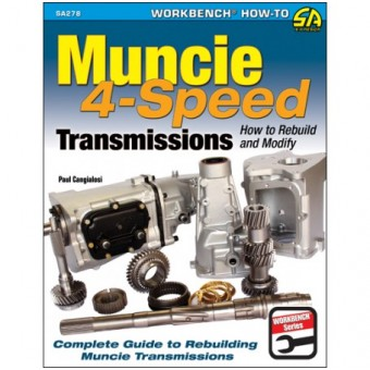 How To Build and Modify Muncie 4 Speed Transmissions Book