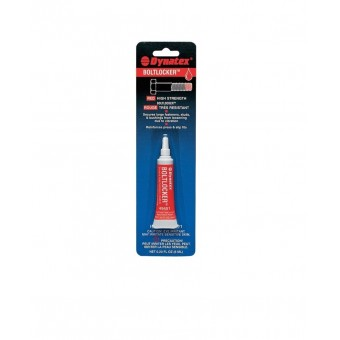 Dynatex Red / Medium - High Strength Thread Locker - 6ml Tube